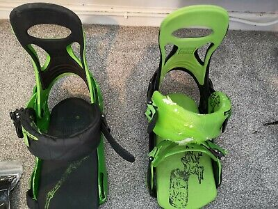 ROME SDS snowboard bindings + loads of spares