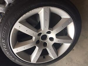 Rims tires staggered 17s