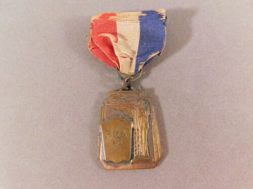 Peacock Military Academy Ribbon Medal 1940 Hall of Fame