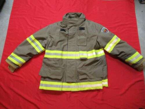 N.O.S. MFG 2012 Fire-Dex 46 x 32 Structural Turnout Coat DRD Fire Jacket BUNKER