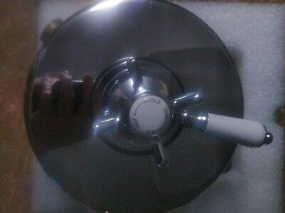 Bath and Shower Mixer Tap Dual Control Thermostatic Valve in Chrome trim TM-E02 Dual Thermostatic Valve