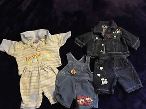 Levi's 0-3 Month Baby Clothes