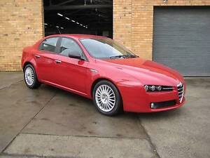 "2007 Alfa Romeo 159 JTD Sedan auto ""ONLY 45,000 KLMS ""LEATHER Heidelberg West Banyule Area Preview"