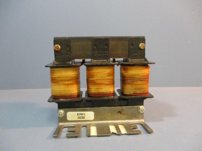 TCI KDR Drive Reactor KDRB1L 3PH 50/60Hz 600V Max 30A Max RoHS Used