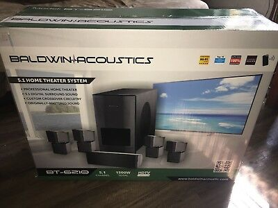 Baldwin Acoustics BT-6210 5.1 Home Theater System