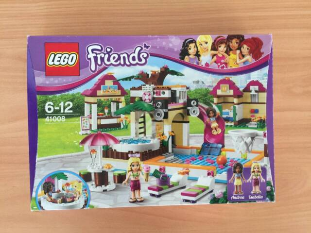 Lego Friends 41008 Andrea Isabella Pool Party Toys Indoor