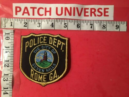ROME GA  POLICE  THE CITY OF SEVEN HILLS  SHOULDER PATCH   G094