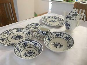 Johnson Bros Crockery - Indies Blue Safety Bay Rockingham Area Preview