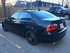 Very Well Maintained 2007 328i Black on Black BMW with Sunroof