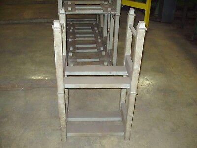 Modular Steel Bar Storage Stacking Rack 24 W X 20 H X 16 D