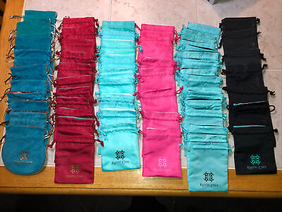 Rustic Cuff Bag 60 count lot Turquoise/Pink/Red/Black NICE