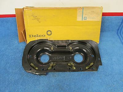 1964 CHEVY PASSENGER  LH  HEADLIGHT UNIT BUCKET   NOS DELCO 1015