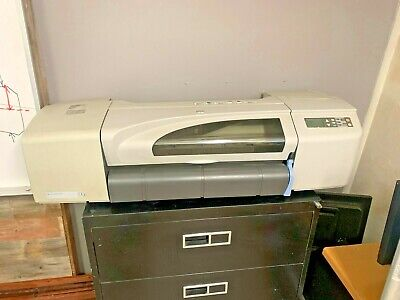 Hp Designjet 500 Large Format Printer Ideal For Blueprints And Wide Print Needs