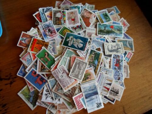 Huge Collection lot 500+ different stamps of Canada