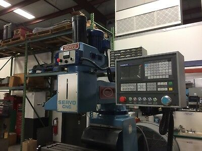 Servo Cnc Vertical Milling Machine