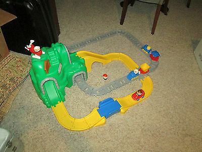 little tikes peak road and rail set instructions