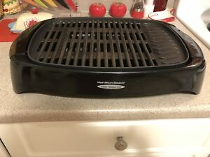 Hamilton Beach indoor / outdoor electric grill, works perfectly