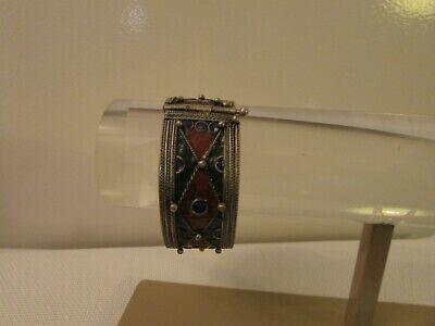 Bracelet Berber Silver Glazed