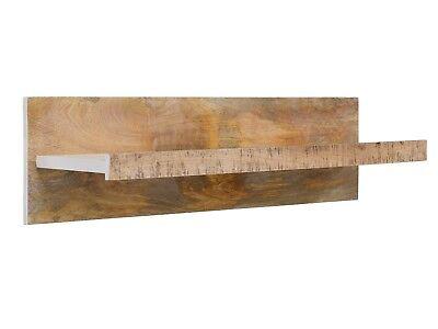 Regal Wandregal massiv Holz Mango Möbel Wohnen Bücherregal massivum Tanzania - Mango Holz Wand Regal