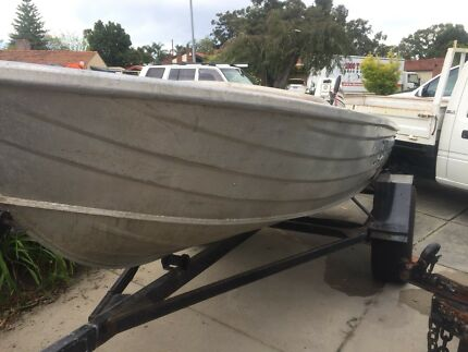 Stacey 3.7 Alloy Craft Dingy
