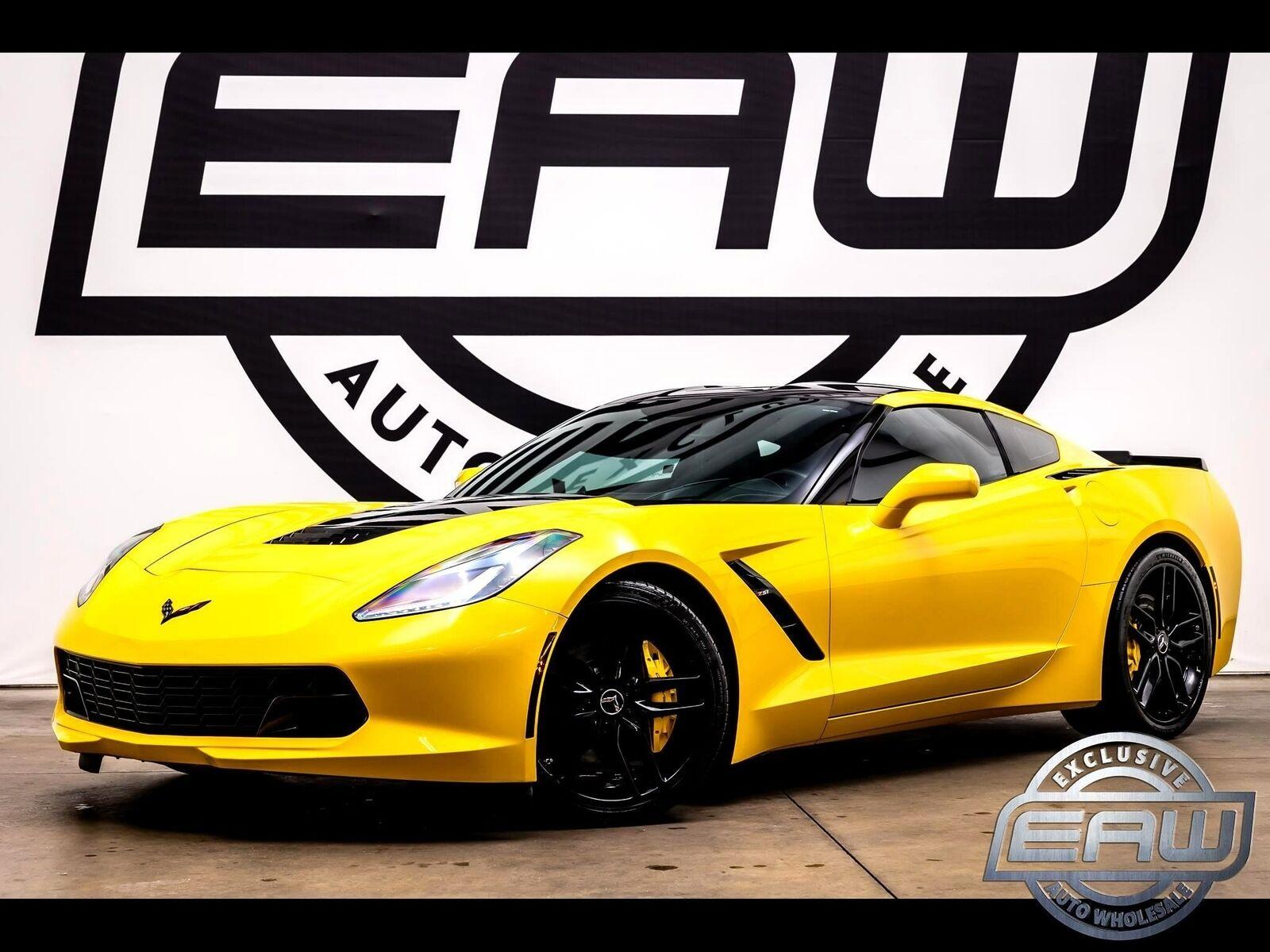 2014 Yellow Chevrolet Corvette Coupe 2LT   C7 Corvette Photo 1