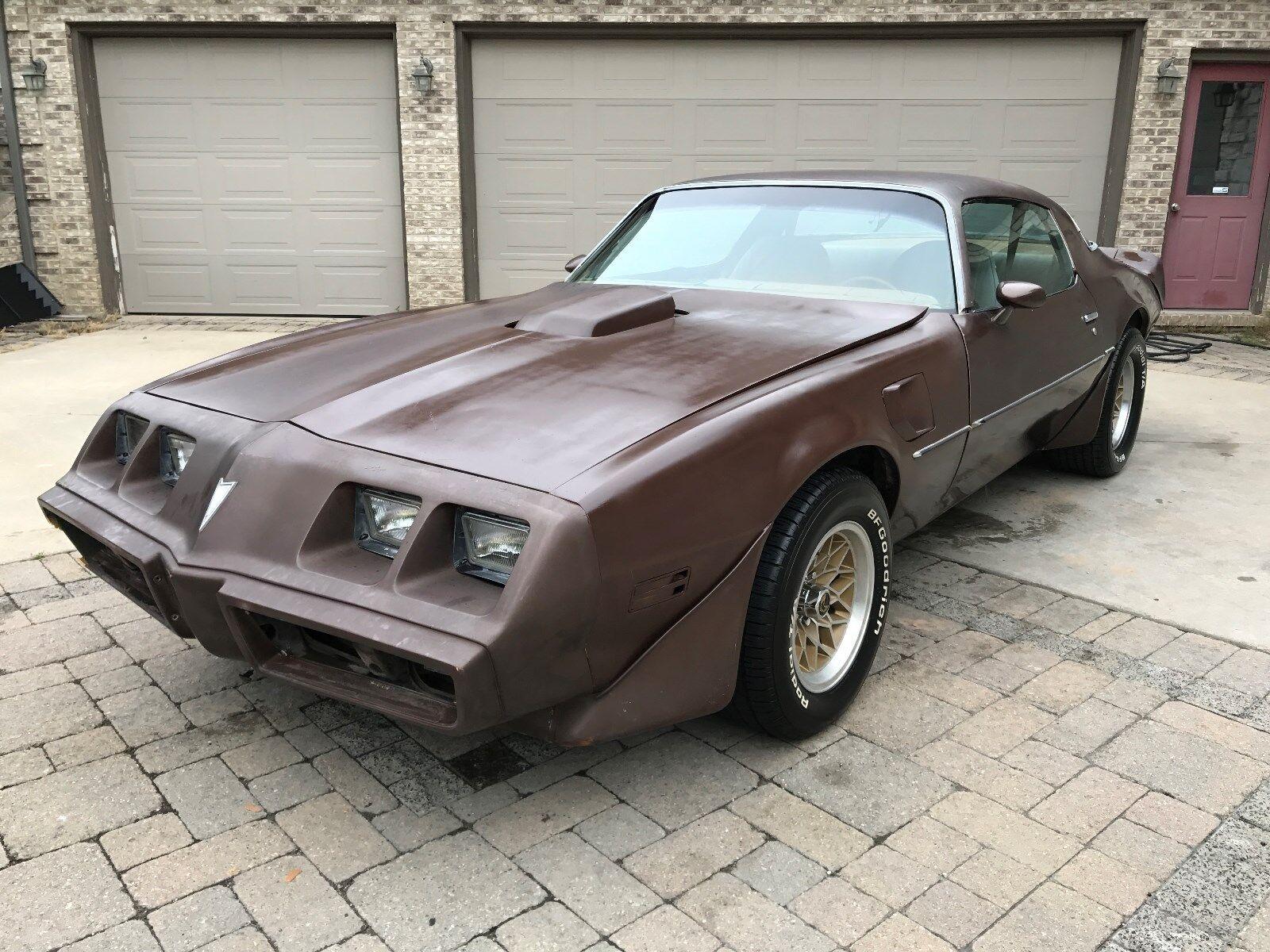 1979 Pontiac Trans Am : RUSTFREE 1979 TRANS AM PROJECT CAR. RUNS AND DRIVES