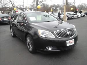2013 BUICK VERANO 1SL- POWER GLASS SUNROOF, NAVIGATION SYSTEM, L