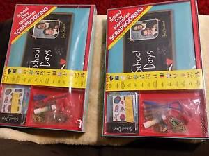 2×New Scrapbook binder with contents Everton Park Brisbane North West Preview