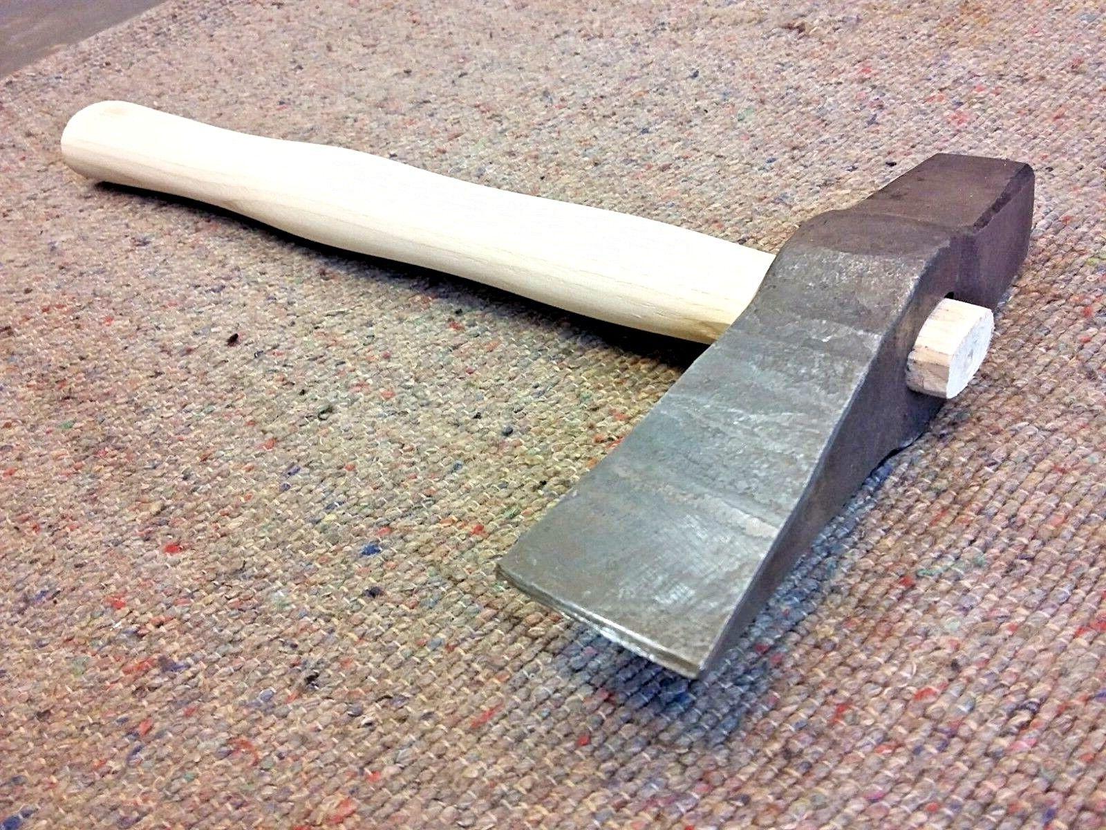 Schlitzhammer, Schrot Hammer, Warmschrot, Schmiede Werkzeug