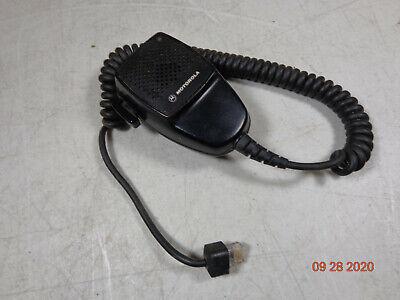 Motorola Cdm1550 Vhf Cdm Maxtrac Pm400 M1225 Uhf Cm300 8 Pin Led Radio Mic C74