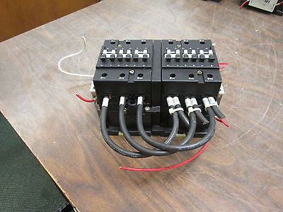 Abb Reversing Contactor B50 120v Coil 65a 600v W 2 Aux Contacts Used