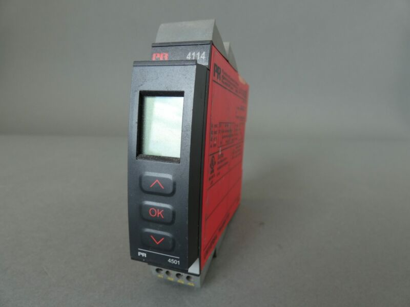 PR Electronics 4114 Universal Transmitter W/4501 Display