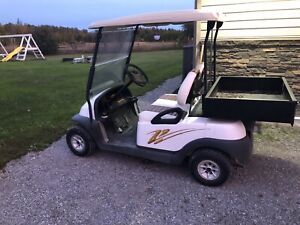Golf cart brand new batteries this year