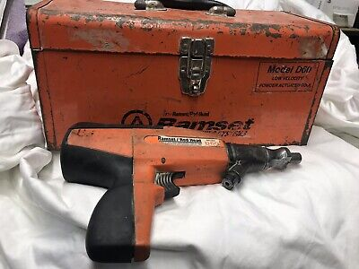 Ramset Red Head Powder Based Nail Gun Semi-automatic D60 With Case