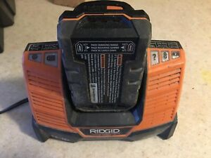 Ridgid charger and battery 18 V