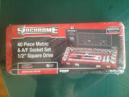 """Sidchrome 1/2"""" 40 Piece Socket Set"""