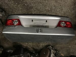 Acura TSX rear trunk 04/08 with lights