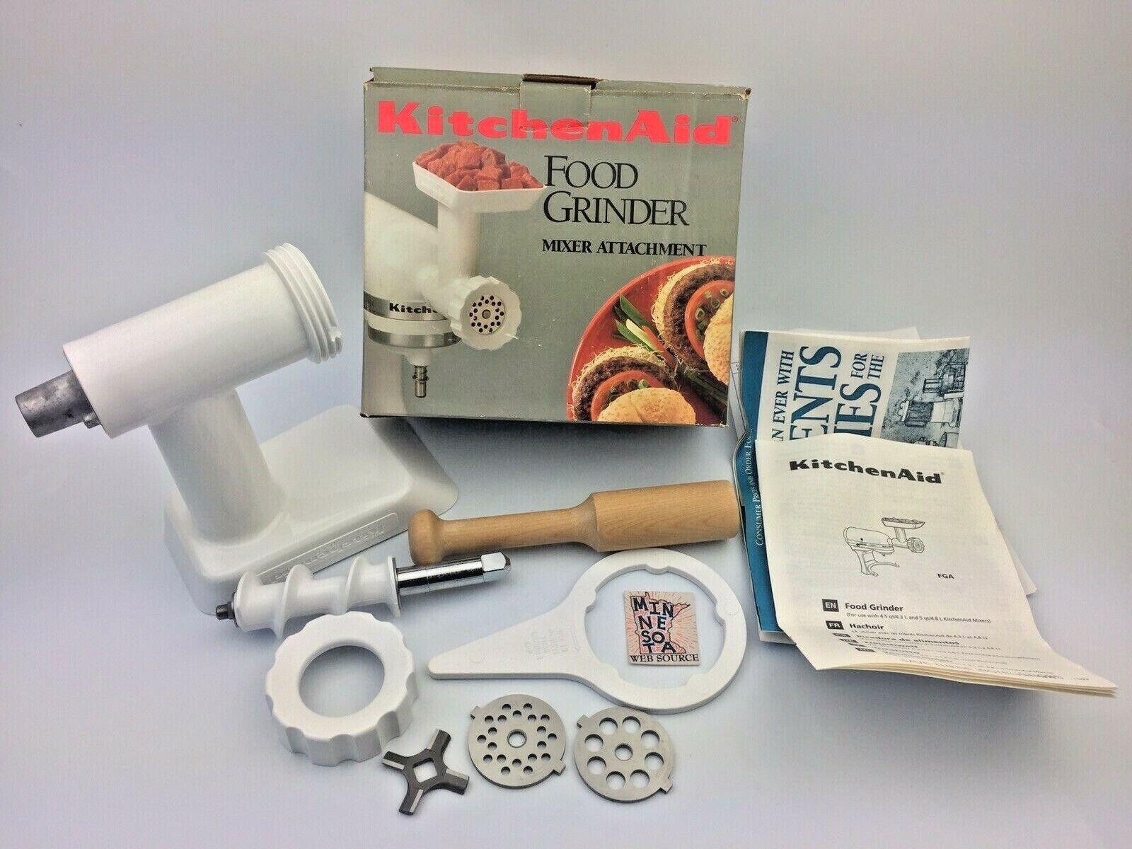 Kitchenaid Factory Refubished FGA Food Grinder Attachment