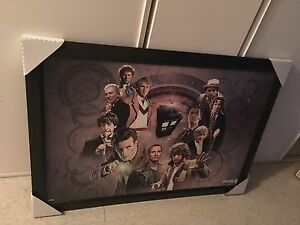 Huge doctor who poster