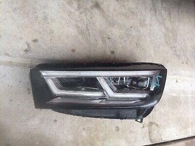 2018 2019 Audi Q5 SQ5 Full LED Left Driver Side Headlight OEM COMPLETE & PERFECT