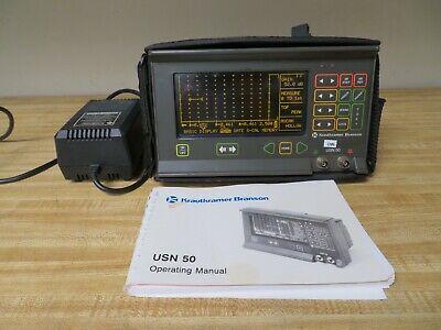 Krautkramer Branson Usn 50 Ultrasonic Flaw Detector - Thickness Gage Ut Ndt Om6