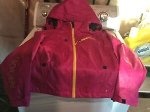 Women's XL water resistant lined jacket