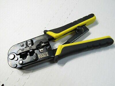 Klein Tools Vdv226-011 Ratcheting Modular Crimperstripper