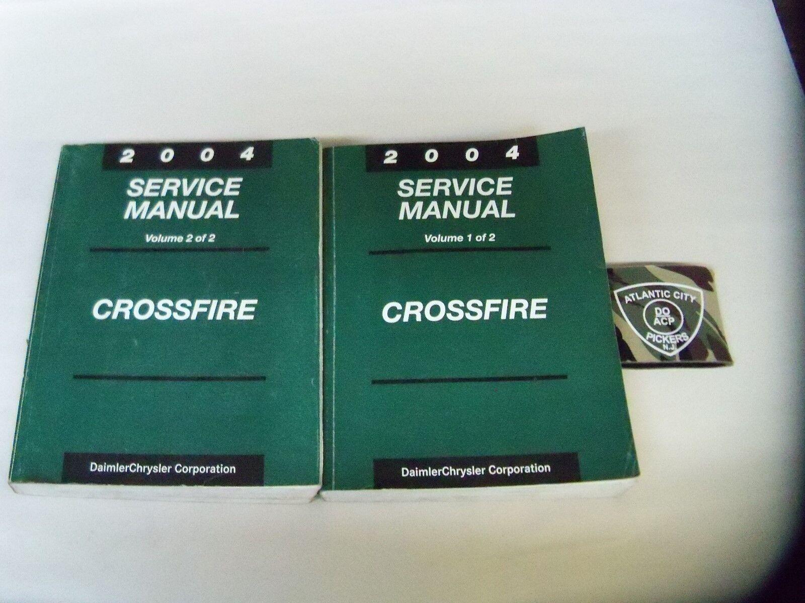 2004 chrysler crossfire service shop repair manual 2 vol set rh fan across top 2004 chrysler crossfire service manual Chrysler Crossfire Service Manual