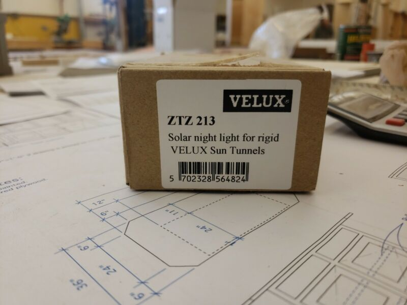 Model ZTZ 213 Velux Solar Night Light For Velux Solar Tube Rigid Sun Tunnel And