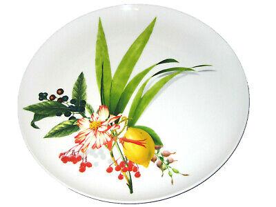 Service Rim Plate (Rosenthal Platzteller 32cm Brillance Les Fruits du Jardin Service rim plate NEW)