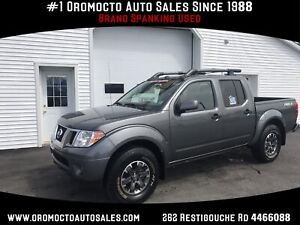 2019 Nissan Frontier PRO-4X HEATED LEATHER,SUNROOF,NAVIGATION
