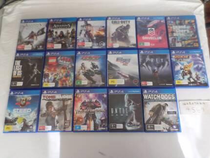 PS4 Games Playstation