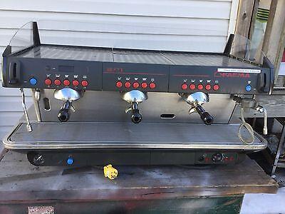Faema E91 3 Group Commercial Espresso Cappuccino Machine 220 V