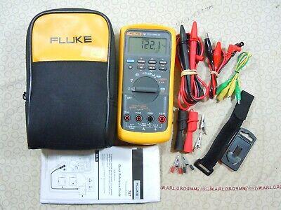 Fluke 787 Processmeter Kit With Accessories Fluke Storage Case - 15671.
